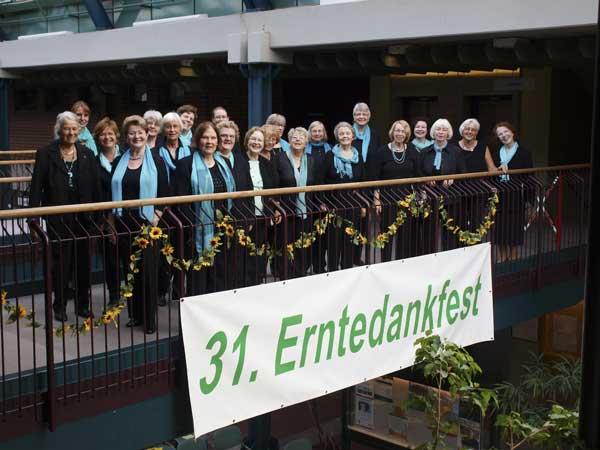Erntedank-Singen 2014