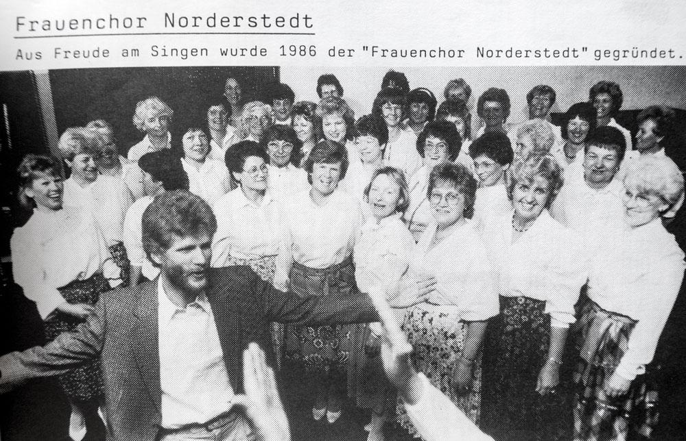 Frauenchor Norderstedt 1986